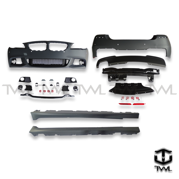 TWL-BMW F10 M-TECH-Front and rear bumper side skirts