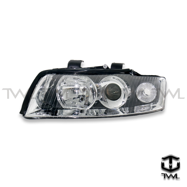 TWL-AUDI A4-Chrome projector head light