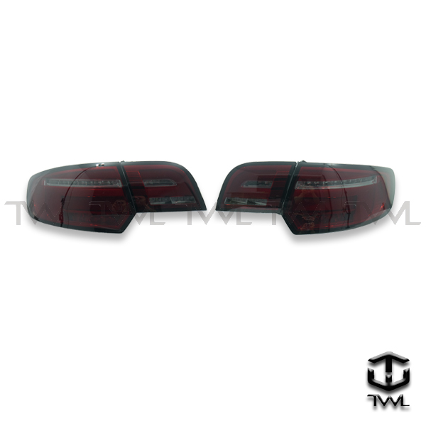 TWL-AUDI A3 8P-LED red and black marquee tail light
