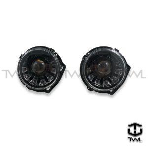 TWL-BENZ W463 G CLASS G320 G350 G500 G55 AMG-LED black projector marquee headlight