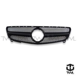 TWL-BENZ W176 LCI A180 A250 A45 A200-Bright black grille