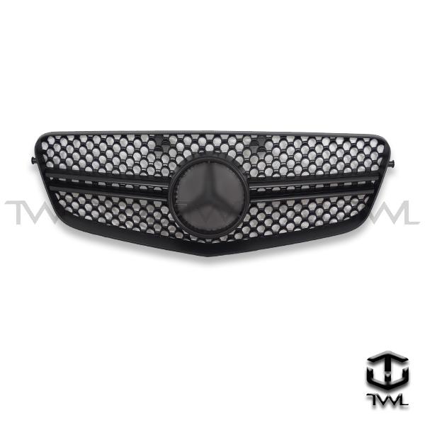 TWL-BENZ W212 E63-Matte black grille