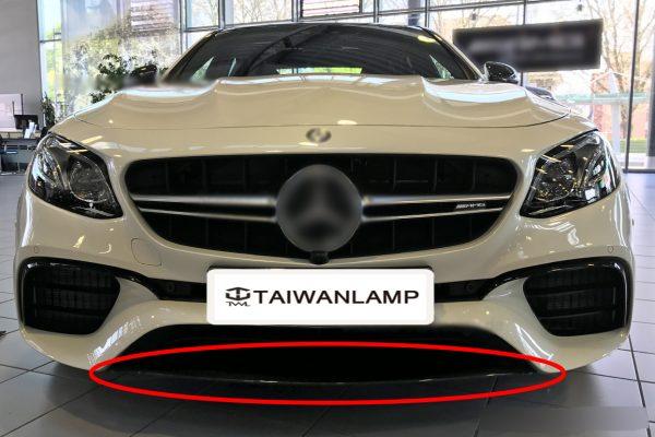 TWL-BENZ W213 E63-Front bumper brught black Trim