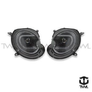 TWL-MINI R56-Black R8 projector motor headlights