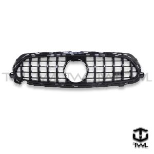 TWL-BENZ W213 C238 GT style-Bright black upright grille