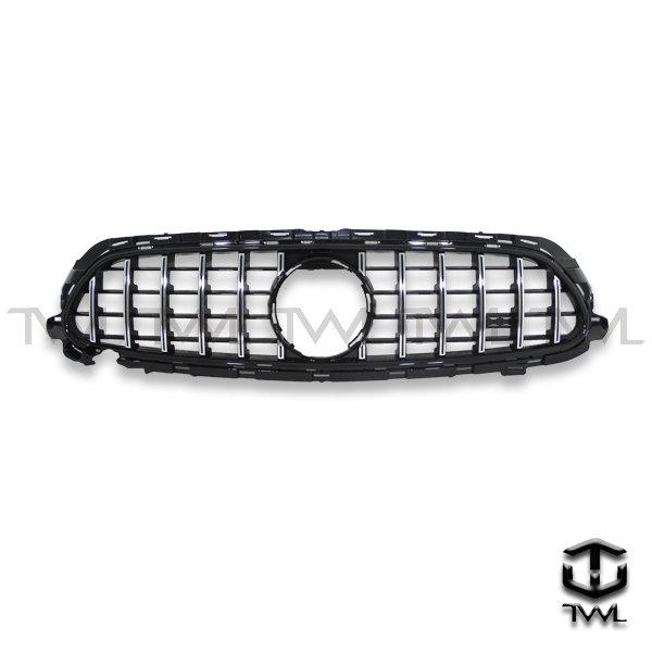 TWL-BENZ W213 C238 GT style-Chrome upright grille
