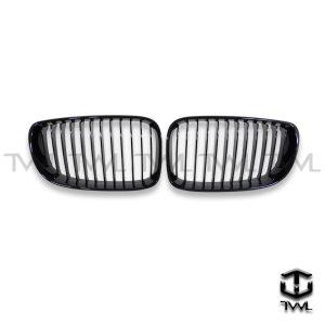 TWL-BMW E82 E87 E88-Bright black grille